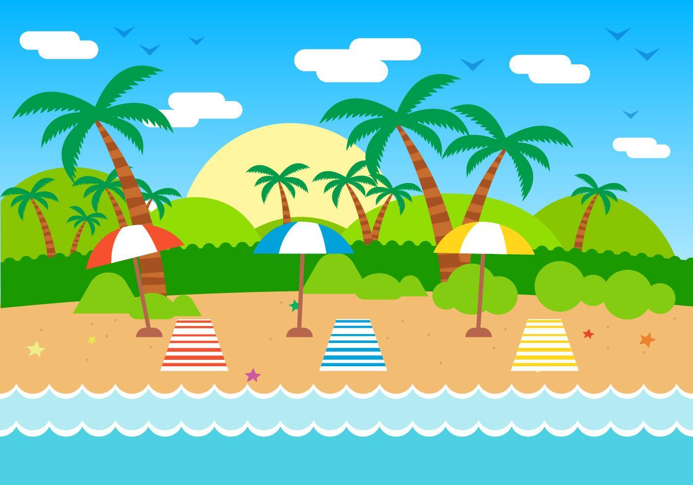 free-summer-vector-illustration